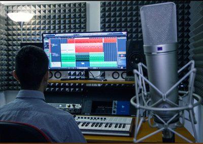 Regia studio di registrazione bergamo