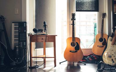 Registrare musica in casa